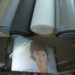 210*297mm Self Adhesive Holographic Rear Projection Screen Material Window Film