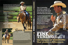 ANDREA FAPPANI Art of Fine Tuning SERIES 4 Horse TRAINING Reining DVD SET