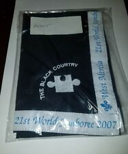 21ST World Scout Jamboree The Black Country Youth Size Neckerchief UK 2007 WSJ