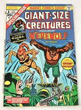 Giant-Size Creatures #1 (Marvel, July 1974), Werewolf By Night, 1st App. Tigra