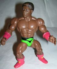 1985 OLMEC Sun Man Round Head Action Figure MOTU He-Man wrestler knockoff