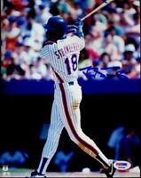 Darryl Strawberry Signed Psa/dna 8x10 Autograph Authentic