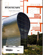 Architecture Magazine October 2005 Water Treatment Plant Park America's Cup