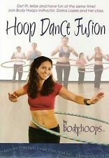 HOOP DANCE FUSION (DVD) Diana Lopez By Body Hoops Exercise ~ Free Shipping