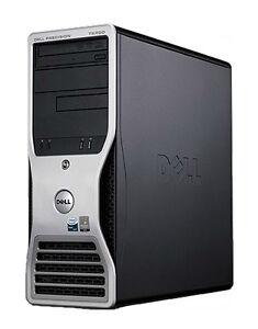 Dell Precision T3500 | 3.2GHZ |12GB | 240GB SSD - 320GB HDD | Nvidia Quadro 4000