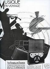 1929 - Publicité T.S.F. portative RADIO L.L.