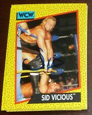 Sid Vicious Signed Auto'd 1991 Impel WCW Rookie Card RC #27 Autographed WWE WWF