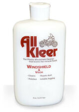 All Kleer 8oz. motorcycle plastic shield/screen Cleaner/Polish/Fog Inhibitor