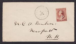 US Sc 210 on 1887 Danvers Center, MA DPO Cover