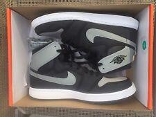 Air Jordan 1 KO Shadow SIZE 12 - AJKO Black Grey Canvas Shoes