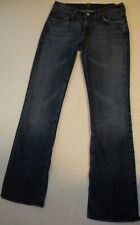 Authentic Seven for All Mankind Jeans Women's Sz 26 BootCut FREE SHIPPING EUC. H