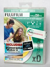 Fujifilm 256mb type H XD card, including case and Arcsoft panoramic software.