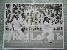 Org Press Photo- Cricketer Manzoor Elahi in 1986 India v Pakistan Match
