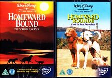 HOMEWARD BOUND 1 & 2 DVD R4 MICHAEL J FOX
