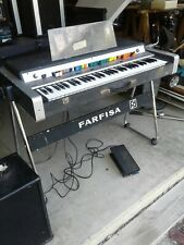 Farfisa Vip 345 Vintage Piano Organ - Rare Now Playing!