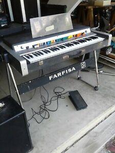 Farfisa VIP 345 Vintage Piano Organ - Rare NOW PLAYING!!!!