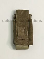 NEW Eagle Industries 40mm Grenade Pouch Flashbang Pouch MOLLE SFLCS KHAKI w/ Tab