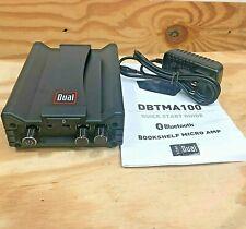 Dual Electronics DBTMA100 Micro Wireless Bluetooth 2 Channel Stereo Class-D Amp