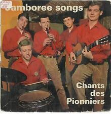 33 TOURS 4  TITRES / JAMBOREE SONGS   CHANTS DES PIONNIERS