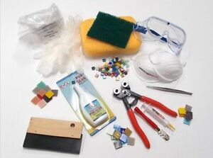 Artisan Mosaic Tool Kit. With free practice tiles and 10%  Discount Code !