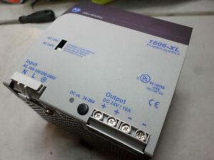 ALLEN BRADLEY POWER SUPPLY - 24DC 10amps - 100-120/200-240 Supply - 1606-XL240EP