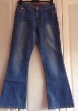 Weishiya Jeans, Ladies Blue Stonewashed Size XL