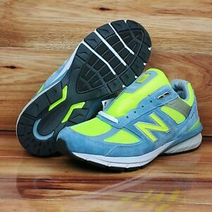 New Balance 990v5 Made in USA Women's  Running Shoes Grey Volt Size 10.5 New
