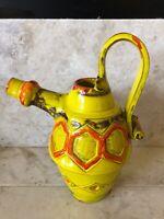 VTG Mid Century Modern MCM Rosenthal Netter Ceramic Pitcher Vase Vintage Wild