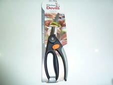 KITCHEN DEVIL DEVILS POULTRY SCISSORS SHEARS MEAT 603012 NEW