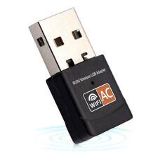 Wireless 600Mbps USB wifi Adapter AC600 2.4GHz 5GHz WiFi Antenna PC Mini Co E8X9