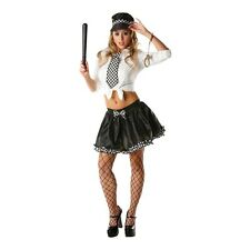 Ladies Police Lady Tutu Set - Adult Kit Cop Uniform Sexy Fancy Dress Costume
