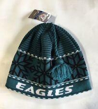 Philadelphia Eagles Knit Beanie Winter Hat Toque Skull Cap New Snowflake Tassle