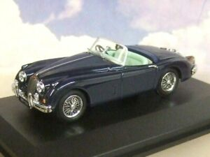 Oxford Diecast 1/43 1957-61 Jaguar XK150 Xk 150 Roadster Indigo Bleu 43XK150009