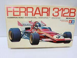 Tamiya Ferrari 312B Formula One Big Scale Car 1/12 NEW BOXED - 254