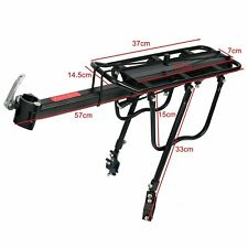 110Lbs Capacity Adjustable Pannier Bike Luggage Cargo Rack Bicycle Carrier Racks