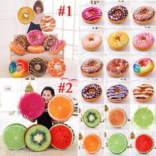 Donut Fruit Coussin Oreiller jeté taile Maison Sofa peluche TOYS ENFANTS CADEAUX