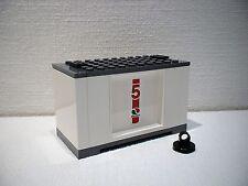 LEGO® Eisenbahn Container weiß für 3677, 7898, 7938, 7939 - City - NEU 5