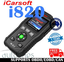 iCarsoft i820 Car Engine Fault Diagnostic Scanner Code Reader OBD2 Scan Tool