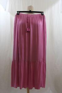 Talbots Women's Midi Skirt - Pink-  Size 2X  NWT