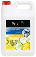 BOLDAIR Bidon 5 Litres 3D Surodorant sols détergent désodorisant