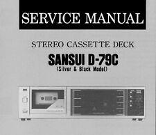 sansui g 9000 service manual