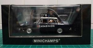 Minichamps 400120990 Alfa Romeo Giulia 1600 Carabinieri