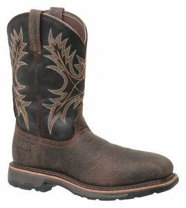 Ariat Mens Workhog Waterproof Composite Toe Safety Western Boots 10017420