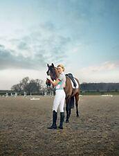 Dublin Femmes Fuller équitation concours complet à manches courtes montrant Polo Shirt Top