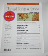 Harvard Business Review Magazine - Nov/Dec 1998 - What Makes a Leader? - Index