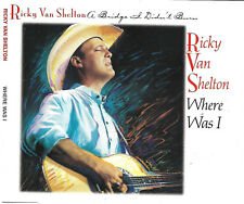 Ricky van Shelton - Where Was I (3-Track Maxi-CD, 1993) sehr guter Zustand!