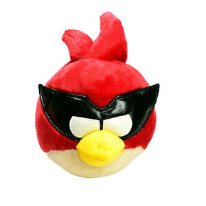 Angry Birds Space Super Red Mask Rovio Plush Soft Toy Washed and Clean 25cm