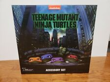 NECA TMNT Accessory Set movie box set 90s 7 inch action figure RARE in hand