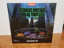NECA TMNT Accessory Set movie box set 90s 7 inch action figure RARE in hand