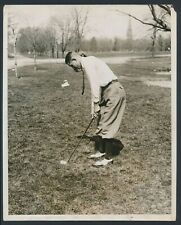 """1929 Horton Smith, """"Ready for the Big Stage"""" Early Vintage Photo of Golf Legend"""